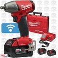 "Milwaukee 2759B-22 M18 FUEL 1/2"" Compact Impact w/ Fric Ring + ONE-KEY 3 5Ah"