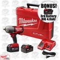 "Milwaukee 2762-22 1/2"" High Torque Impact Kit ""3"" 4.0ah XC Batts"