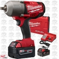 "Milwaukee 2762-22 M18 FUEL 1/2"" High Torque Impact Wrench w/ Detent Pin OB"