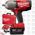 Milwaukee 2763-21XC M18 1/2in High Torque Impact Wrench XC 5.0 Battery