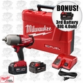 "Milwaukee 2763-22 1/2"" High Torque Impact Kit ""3"" 4.0ah XC Batts"