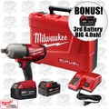 "Milwaukee 2764-22 3/4"" High Torque Impact Kit ""3"" 4.0ah XC Batts"