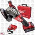 "Milwaukee 2781-21 M18 FUEL 4-1/2""/5"" Grinder, Slide Switch Lock-On Open Box"
