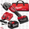 "Milwaukee 2781-22HD M18 Fuel 4-1/2""/5"" Grinder, Slide Switch Lock-On HD Kit"