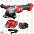 "Milwaukee 2783-20-B1 M18 18V FUEL 4-1/2""/5"" Braking Grinder + Batt & Charger"