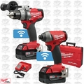 Milwaukee 2795-22 M18 FUEL 2-Tool Combo Kit with ONE-KEY Open Box