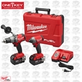 Milwaukee 2796-22 M18 FUEL 2-Tool Combo Kit with ONE-KEY