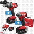 Milwaukee 2796-22 M18 FUEL 2-Tool Combo Kit with ONE-KEY 3x 5.0Ah Batteries