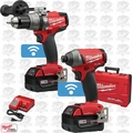 Milwaukee 2796-22 M18 FUEL Hammer Drill & Impact Kit w/ ONE-KEY Open Box