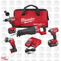 Milwaukee 2896-24 M18 18V Gen 2 FUEL Li-Ion 4-Tool Combo Kit Open Box