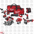 Milwaukee 2896-26 M18 Gen 2 FUEL Li-Ion 6-Tool Combo w/JobSite Radio+2 Batts
