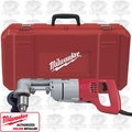 "Milwaukee 3002-1 Electrician's 1/2"" D-Handle Right Angle Drill Kit"
