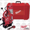 Milwaukee 4270-21 (Reconditioned) Compact Electromagnetic Drill Press Kit - 450 RPM