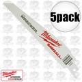 "Milwaukee 48-00-5701 The Wrecker 6"" All Purpose Demolition Blade"
