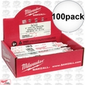 "Milwaukee 48-01-7782 6"" 14TPI Torch 100pk"