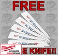 Milwaukee 48-01-9782 Ice Hardened Torch Sawzall Blades