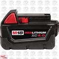 "Milwaukee 48-11-1840 M18 XC 4.0 Red Lithium Battery ""In Original pkg"""