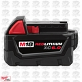 Milwaukee 48-11-1860 M18TM RED LITHIUM XC6.0 Extended Capacity Battery Pack