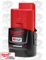 Milwaukee 48-11-2420 M12 Red Lithium 2.0Ah Battery Original Pkg