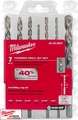 Milwaukee 48-20-8857 7pc Hammer Drill Carbide Bit Kit