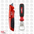 Milwaukee 48-22-1910P Side Slide Out Knife with Bonus Bottle Opener