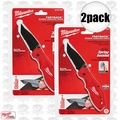 Milwaukee 48-22-1995 2pk Fastback Spring Assisted Serrated Knife