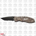 Milwaukee 48-22-1996 Fastback Camo Spring Assisted Serrated Knife