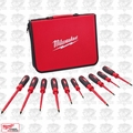 Milwaukee 48-22-2210 10pc 1000V Insulated Screwdriver Set w/ EVA Foam Case