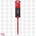 "Milwaukee 48-22-2223 3/8"" Slotted - 8"" 1000V Insulated Screwdriver"