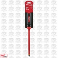 "Milwaukee 48-22-2224 3/8"" Slotted - 10"" 1000V Insulated Screwdriver"