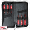 Milwaukee 48-22-2606 6Pc Precision Screwdriver Set w/Case