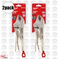 "Milwaukee 48-22-3420 2pk 10"" Torque Lock Curved Jaw Locking Pliers"