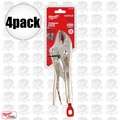 "Milwaukee 48-22-3420 4pk 10"" Torque Lock Curved Jaw Locking Pliers"