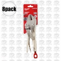 "Milwaukee 48-22-3510 10"" Torque Lock Straight Jaw Locking Pliers"