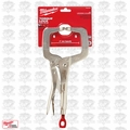 "Milwaukee 48-22-3531 Torque Lock 11"" Alloy Steel Regular Jaw Locking C-Clamp"