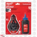 Milwaukee 48-22-3982 100' Bold Line Chalk Reel w/ Blue Chalk