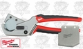Milwaukee 48-22-4200 Pex and Tubing Cutter + Replacement Blade