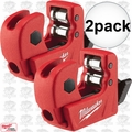 "Milwaukee 48-22-4250 2pk 1/2"" Mini Copper Tubing Cutter"