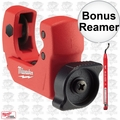"Milwaukee 48-22-4251 1"" Mini Copper Tubing Cutter w/ Bonus Reaming Pen"