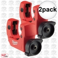 "Milwaukee 48-22-4251 2pk 1"" Mini Copper Tubing Cutter"
