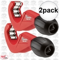 """Milwaukee 48-22-4252 2pk 1-1/2"""" Constant Swing Copper Tubing Cutter"""