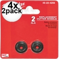 Milwaukee 48-22-4256 4x 2pk Replacement Cutter Wheels