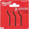 Milwaukee 48-22-4257 3pk Replacement Reaming Blades