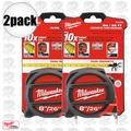 Milwaukee 48-22-5225 2pk 26' (8m) Standard/Metric Magnetic Tape Measure