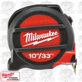 Milwaukee 48-22-5233 33' ~ 10 Meters Metric Magnetic Tape Measure