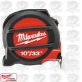 Milwaukee 48-22-5233 33' ~ 10 Meters Metric & inches Magnetic Tape Measure