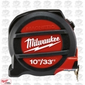 Milwaukee 48-22-5233 33'~10 Meters Metric & inches Magnetic Tape Measure