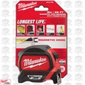 Milwaukee 48-22-7225 8 Meters Metric Magnetic Tape Measure
