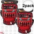 Milwaukee 48-22-8210 2pk Jobsite Tech Bag Tool Pouch Pocket Strap Storage
