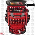Milwaukee 48-22-8210 4pk Jobsite Tech Bag Tool Pouch Pocket Strap Storage